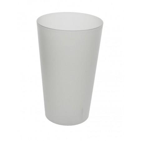 Bicchiere di Plastica Ecologico Transparente 330 ml (35 Pezzi)