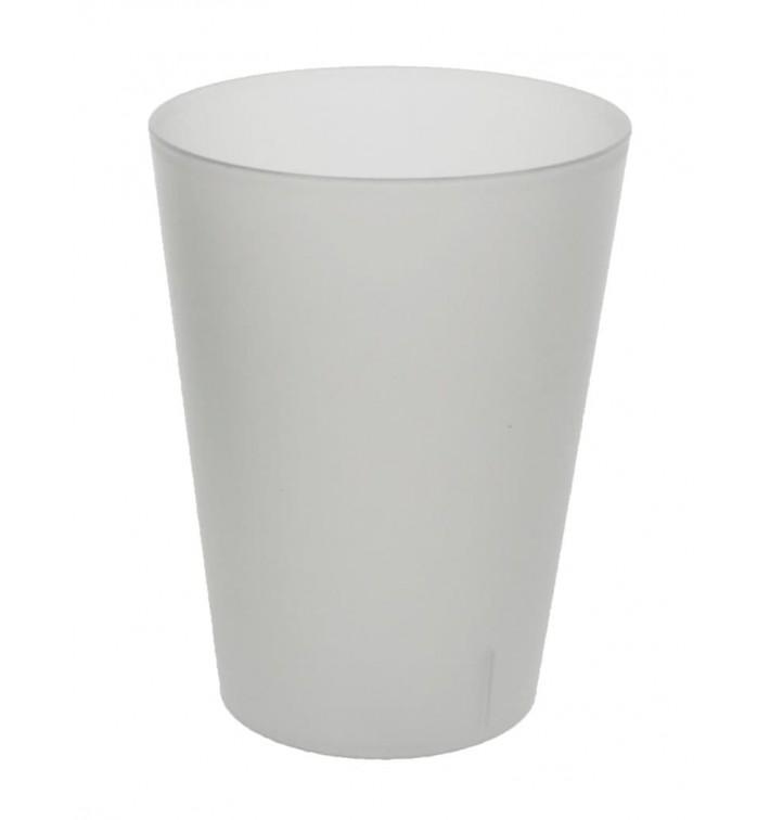 Bicchiere Riutilizzabile PP Traslucido 500ml (16 Pezzi)