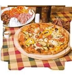 Scatola per Pizza Al Bassanello Tavola 40x40x4,2 cm (100Pezzi)