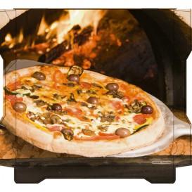 Scatola per Pizza Al Bassanello Pala 40x40x4,2 cm (100Pezzi)