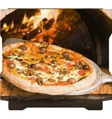 Scatola per Pizza Al Bassanello Pala 33x33x4,2 cm (100Pezzi)