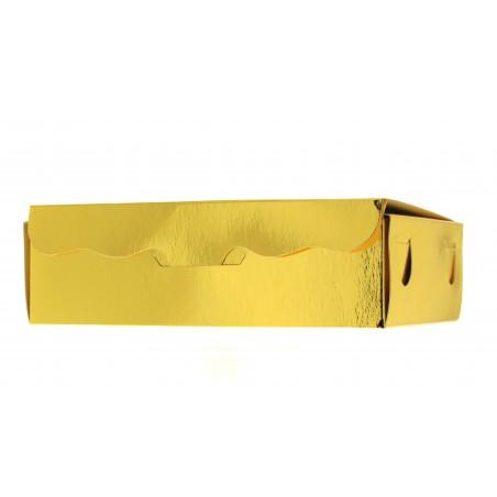 Scatola per Dolci e Praline Oro 11x6,5x2,5cm 100g (100 Pezzi)