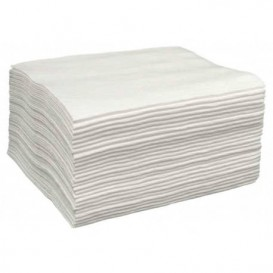 Asciugamani in Spunlace Bianco 40x80cm 50g/m² (25 Pezzi)