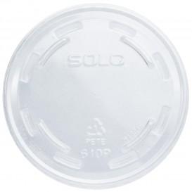 Coperchio Senza Foro per Bicchieri PET Solo Ultra Clear 9Oz grande et 10Oz (100 Pezzi)