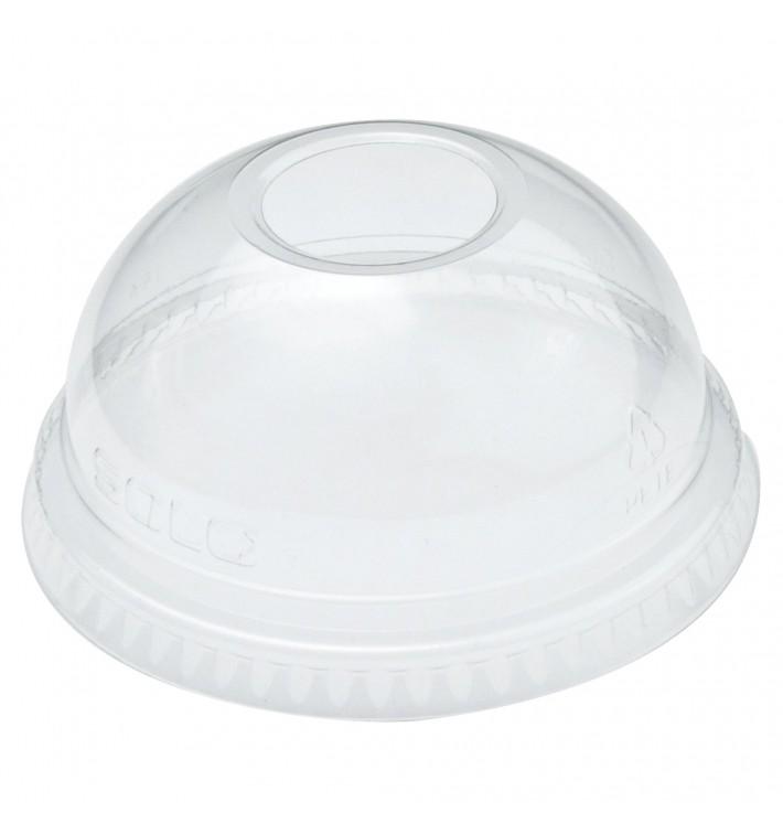 Coperchio Cupola con Foro PET Glas Ø7,8cm (1000 Pezzi)
