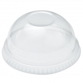 Coperchio a Cupola senza Foro Ampio Bicchieri Ultra Clear 9Oz Grande e 10Oz (1000 Pezzi)
