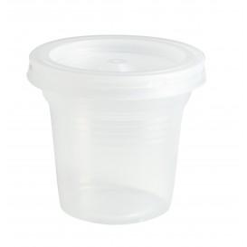Bicchiere di Plastica PS Trasparente 80ml Ø5,7cm (100 Pezzi)