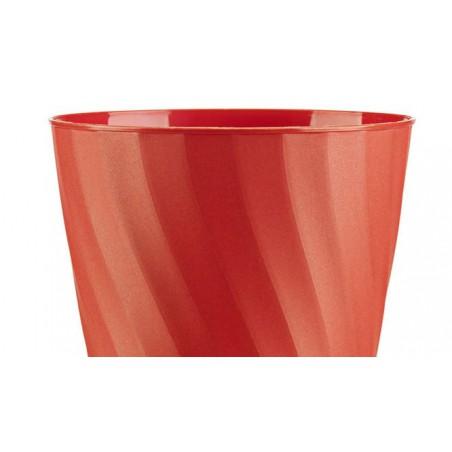 """Bicchiere di Plastica PP """"X-Table"""" Arancione 320ml (8 Pezzi)"""
