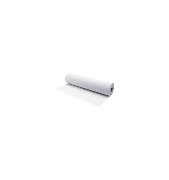 Rotolo Di Carta Pretagliata Per Lettini 0.58x70m Bianco (6 Pezzi)