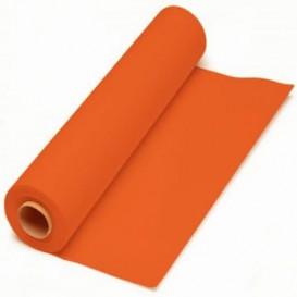 Tovaglia di Carta Rotolo Arancione 1x100.m 40g (6 Pezzi)
