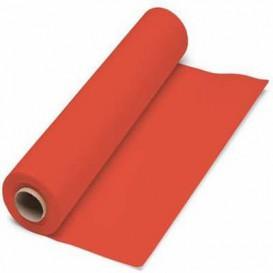 Tovaglia di Carta Rotolo Rosso 1x100m. 40g (6 Pezzi)