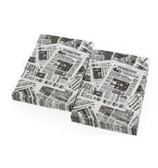 """Tovagliolo di Carta """"Stampa"""" 17x17cm (6000 Pezzi)"""