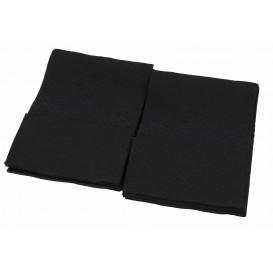 Tovagliolo di Carta Nero 17x17cm (160 Pezzi)