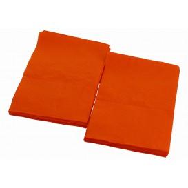 Tovagliolo di Carta Arancione 17x17cm (160 Pezzi)
