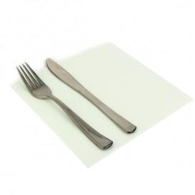 Tovagliolo di Carta Bianco 2V Punta-Punta 33x33cm (50 Pezzi)