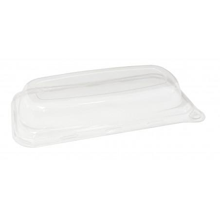 Coperchio Plastica Vassoi Canna da Zucchero 20x10cm (50 Pezzi)