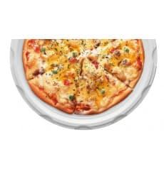 Piatto Plastica Pizza Bianco 280mm (400 Pezzi)