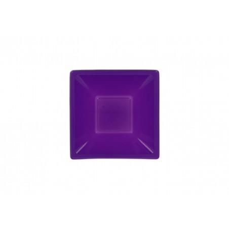 Ciotola Plastica Quadrato Lilla 120x120x40mm (720 Pezzi)
