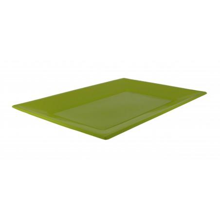 Vassoio Plastica Pistacchio 330x225mm (3 Pezzi)