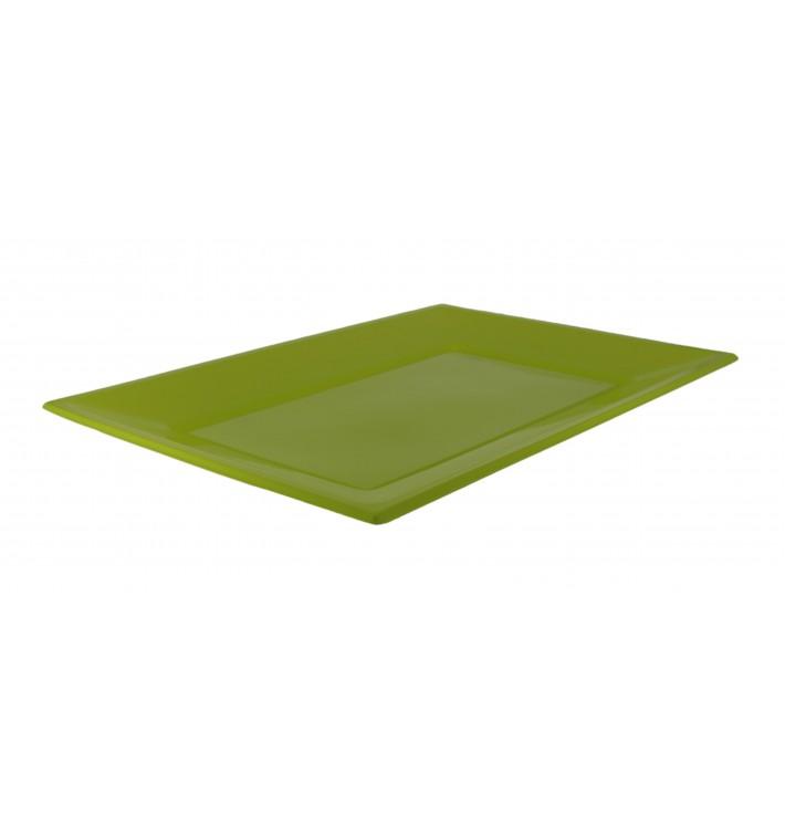 Vassoio Plastica Pistacchio 330x225mm (180 Pezzi)