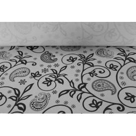 """Tovaglia Carta Rotolo """"Cachemire"""" Bianco 1,2x100m 37g (6 Unità)"""
