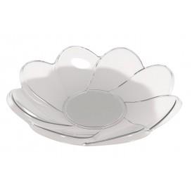 Piatto di Plastica Daisy Degustazione Trasp. 30ml (25 Pezzi)