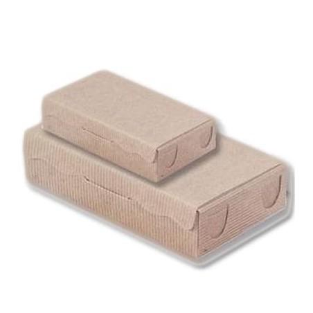 Scatola per Dolci e Praline Kraft 20x13x5,5cm 1000g (100 Pezzi)