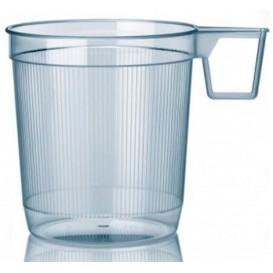 Tazze di Plastica Rigido Trasparente 250 ml (40 Pezzi)