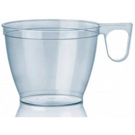 Tazze di Plastica Trasparente 180ml (50 Pezzi)