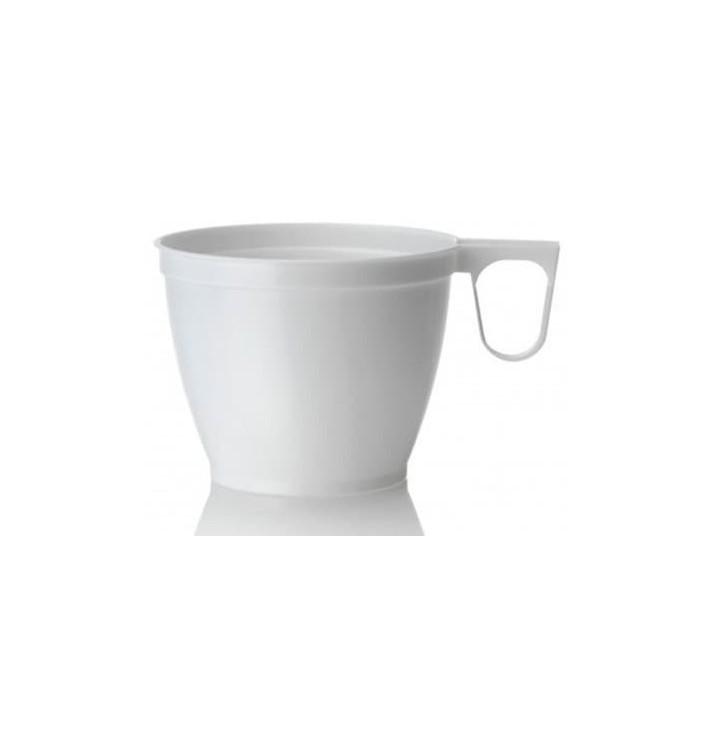 Tazze di Plastica Bianco 180ml (50 Pezzi)