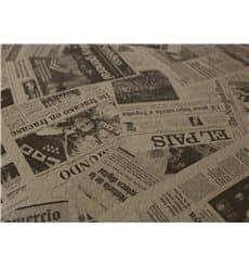 "Tovaglia di Carta Taglio 1x1m ""Kraft Stampa"" 37g (400 Pezzi)"