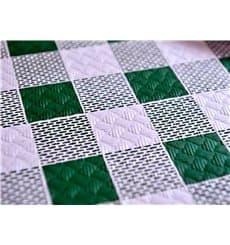 """Tovaglia di Carta Taglio 1x1m """"Quadro Verdes"""" 40g (400 Pezzi)"""