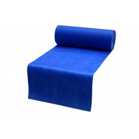 Tovaglia Rotolo Non Tessuto Pretagliati Blu Royal 0,4x48m 50g (6 Pezzi)
