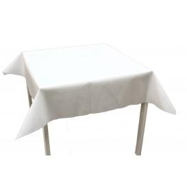 Tovaglia Non Tessuto Bianco 120x120cm (150 Pezzi)