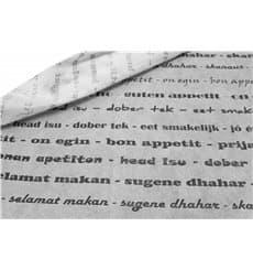 """Tovaglia Non Tessuto """"Buon Appetito"""" 120x120cm (150 Pezzi)"""