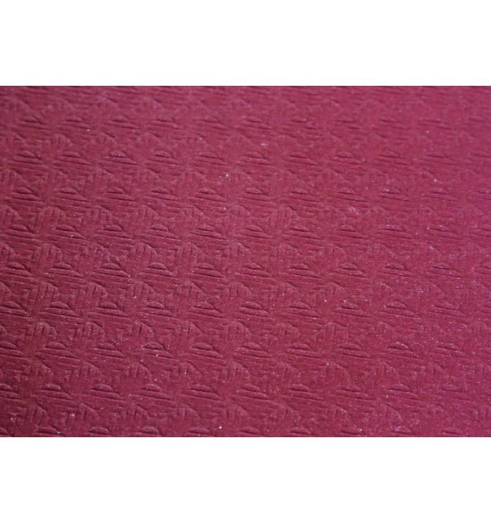Tovaglia di Carta Taglio 1x1 Bordò 40g (400 Pezzi)