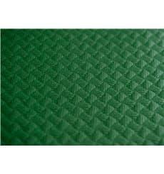 Tovaglia di Carta Taglio 1x1 Metro Verde 40g (400 Pezzi)
