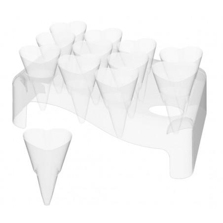 Coni Love 50ml con Stand di Plastica 180x260mm (5 Unità)