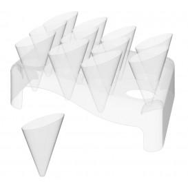 Coni Slice 55ml con Stand di Plastica 180x260mm (20 Unità)