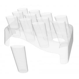 Coni Clear 75ml con Stand di Plastica 180x260mm (5 Unità)