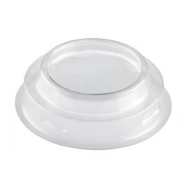 Coperchio Bicchiere Maxi Conical Trasp. PET 100ml (25 Pezzi)
