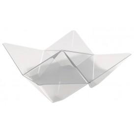 Ciotola Degustazione Origami PS Trasparente 103x103mm (25 Pezzi)