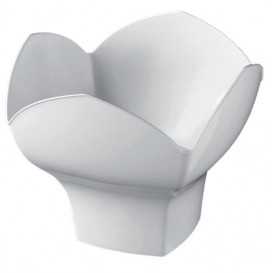 Ciotola di Plastica Degustazione Bianco 100ml (500 Pezzi)