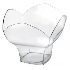 """Ciotola di Plastica """"Spring Dessert"""" Degustazione Transparente 100ml (500 Pezzi)"""