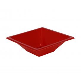 Ciotola Plastica Quadrato Rosso 120x120x40mm (720 Pezzi)