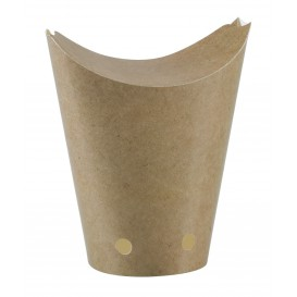 Scatola Chiuso de Cibo Kraft 325ml (50 Pezzi)