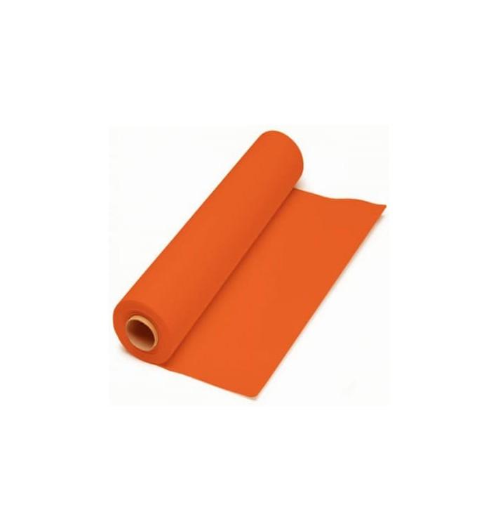 Tovaglia di Carta Rotolo Arancione 1x100.m 40g (1 Unità)