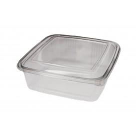 Contenitore Quadrato Coperchio PET 1500 ml (50 Pezzi)