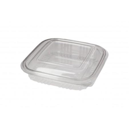 Contenitore Quadrato Coperchio PET 250 ml (100 Pezzi)