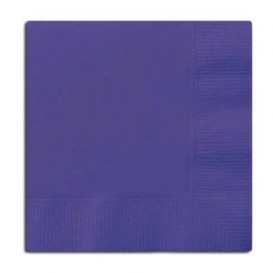 Tovagliolo di Carta Cocktail 20x20cm Blu (6.000 Pezzi)
